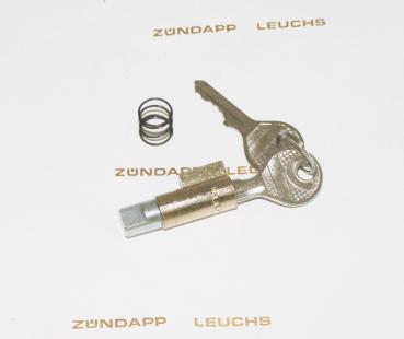 Zndapp Lenkschloss Lenkradschloss 7 teilig 8 mm Rundbolzen ZX 25 ...