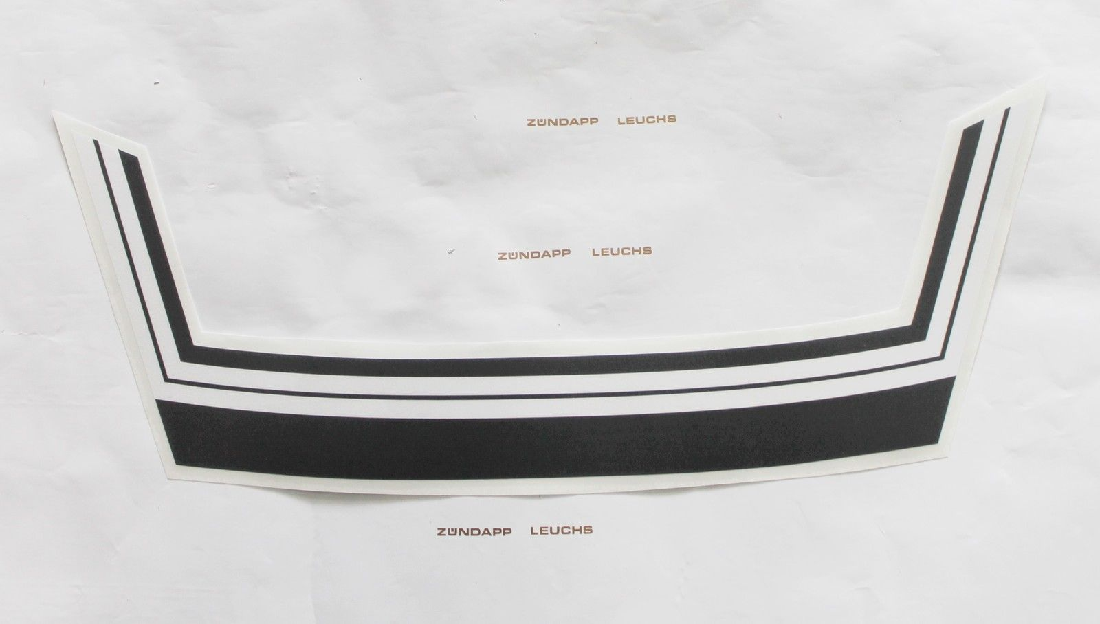 Kreidler Florett K54 Rmc Rs Aufkleber Heck Streifen Aufkleber Schwarz Weiß