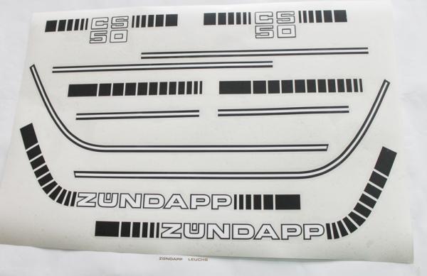 Zündapp Sitzbank mit Flügel CS 25 Mofa Typ 448